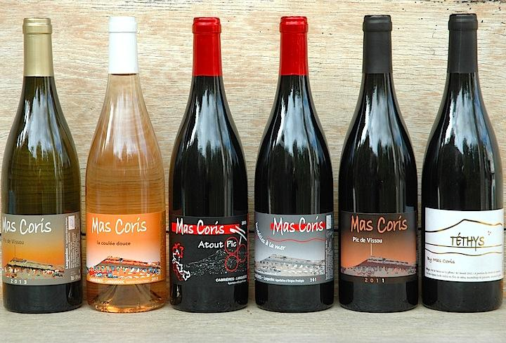 mas coris aoc languedoc bouteille a la mer rouge 2014